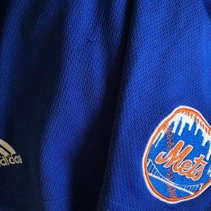 "adidas Shorts - 🌵 Adidas Woman's ""Mets"" Team Athletic Skorts  L"